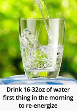 boire eau matin réveil habitude énergie