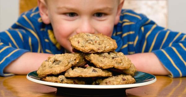manger collation dessert barrière alimentation