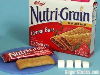 sucre caché céréales