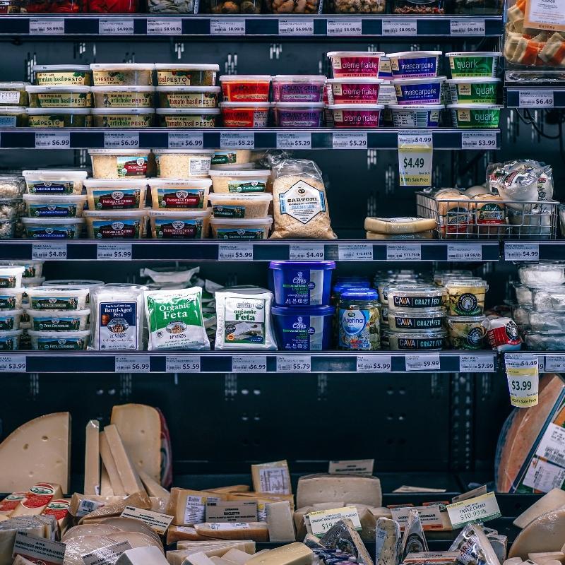 Substituts non laitiers de 7 produits laitiers courants