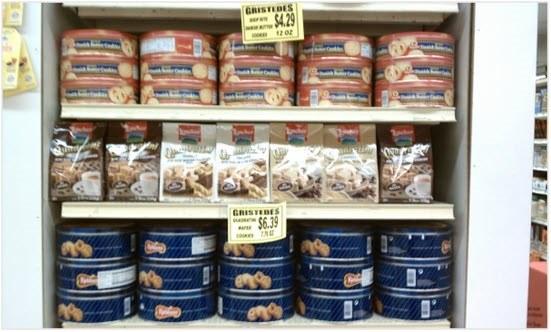 Biscuits calories