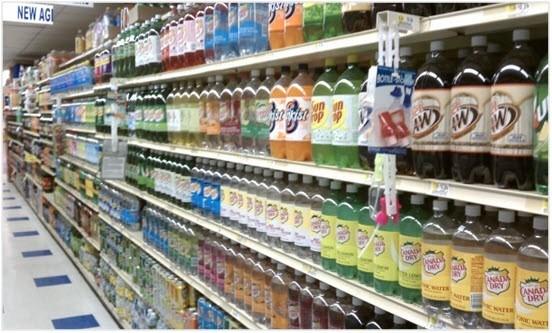 les soda calories