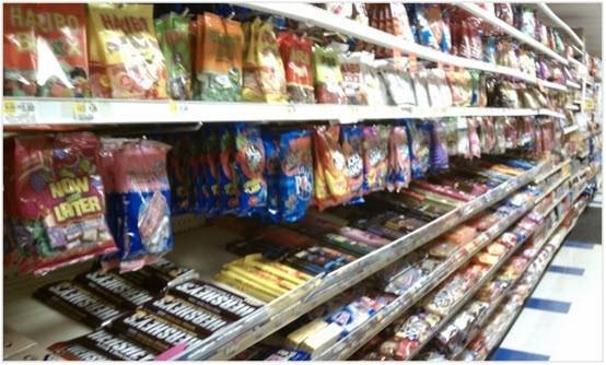 bonbons calories