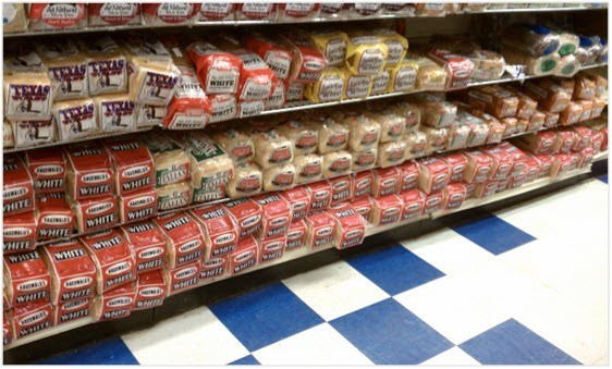 le pain blanc calories